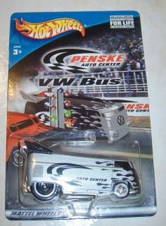 Hot Wheels Penske VW Drag Bus 1 64 w Protector