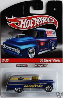 Hotwheels Slick Rides Delivery Good Year 55 Chevy Panel