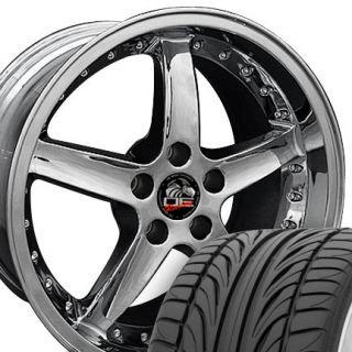 20 8 5 10 Chrome Cobra 05 Wheels Falken Tires Rims Fit Mustang® 05