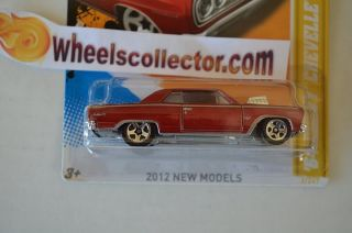 64 Chevy Chevelle SS 2012 Hot Wheels Damaged Openers
