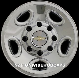 16 Chrome Wheel Skins SET OF 4 FREE SHIP Hub Caps Center Rim Covers