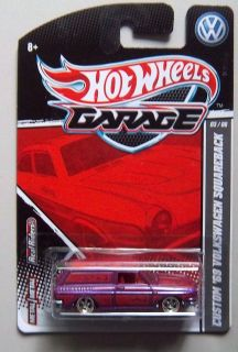 VW Volkswagen Squareback Hot Wheels Garage Diecast 1 64 Car