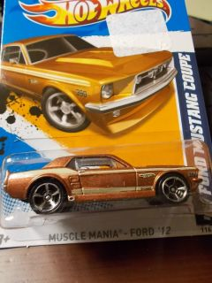 Hot Wheels Car 67 Ford Mustang Coupe 6 10