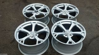 19 19x8 5 S10 4WD Corvette Camaro Wheels Silver 5x4 75 Set 4 Sport