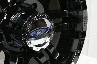 MO951 Gloss Black Machined 5 6 8 Lug Wheels Rims Free Lugs