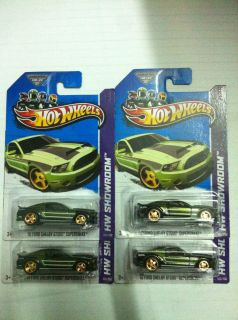 Hot Wheels Super Treasure Hunt 2013 Ford Shelby Super Snake 4 CARD