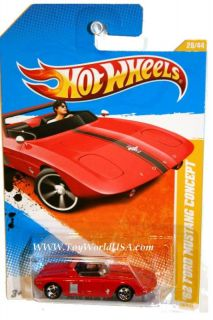10 Hot Wheels Newmodels 28 62 Ford Mustang Concept RD