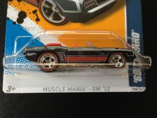 Hot Wheels 69 Camaro Super Treasure Hunt