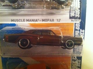 Hot Wheels 69 Dodge Coronet Super Bee Super Treasure Hunt 2 Extra