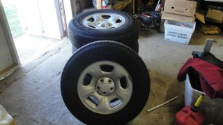 SALE SET OF 4 JEEP LIBERTY RIMS & GOODYEAR WRANGLER TIRES GOOD TREAD