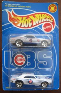 1999 Hot Wheels Special Edition Chicago Cubs Mustang Mach 1 67 Camaro