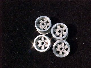 24 Cox Ford GT Wheels Front Rear Polished Clear Coated