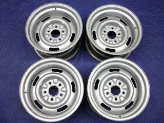 1969 Corvette AZ Rally Wheels 15 Ralley Rims Dated 8 1968 1970 1971