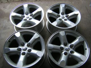 RAM 1500 20 MACHINED ALLOY WHEELS RIMS FACTORY OEM SET OF FOUR 2267