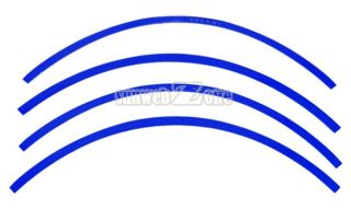 Reflective Car Motorcycle Rim Stripe Wheel Tape Decal Stickers