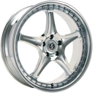 American Racing Shelby S1 Cobra Wheels Rims 18x9 Chrome Ford Mustang