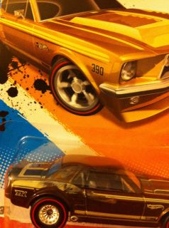 Hot Wheels 2012 67 Ford Mustang Coupe Super Treasure Hunt Error Must