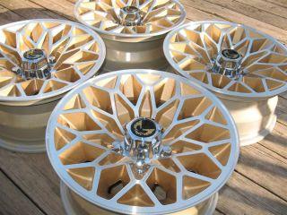 1978 1979 Trans Am SE 15x7 Gold Snowflake Wheels Rims Firebird Formula
