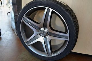 22 Mercedes Wheels Rim Tires R320 R350 R500 ML63 GLK350