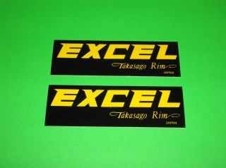YZF CR CRF 65 80 85 100 125 250 450 Excel Rims Stickers Decals