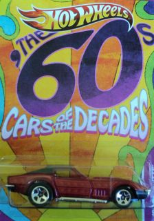 Hot Wheels Cars of The Decades ★ The 60s ★ 69 Chevy Corvette
