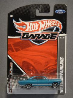 HOT WHEELS GARAGE REAL RIDERS 66 FORD FAIRLANE #3 DIECAST CAR NEW