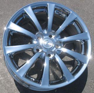 Stock 4 New 17 Factory Lexus IS250 is350 Chrome Wheels Rims