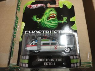 Hot wheels 2013 Retro Entertainment Case A Ghostbusters Movie 1 64