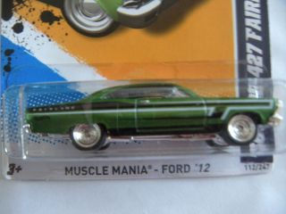 Hot Wheels 2012 Super Treasure Hunts 66 Ford 427 Fairlane