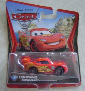 Disney Cars Lightning McQueen 3 with Racing Wheels