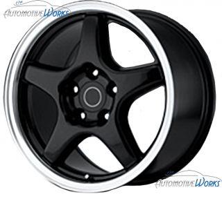 Corvette C4 ZR1 5x120 65 5x4 75 54mm Chrome Wheels Rims Inch 17