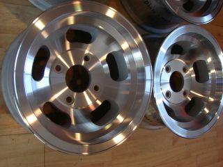 5x4.5, 5x4.75, 5x5 1970s Appliance Slot Bean Mag Aluminum Wheels Rims