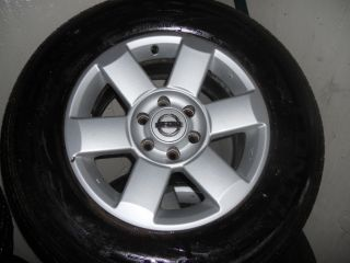 18 Nissan Titan Factory Wheels 265 75 18 Continental Tires