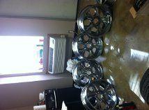 20 inch Universal Chrome Rims Wheels 5 Lug Nuts Fits Many Vehicles