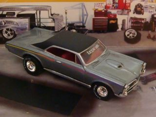 Hot Wheels 67 Pontiac GTO 1 64 Scale Limited Edition 4 Detailed Photos
