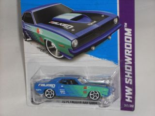 Hot Wheels 2013 HW Showroom Performance #247 70 Plymouth AAR Cuda