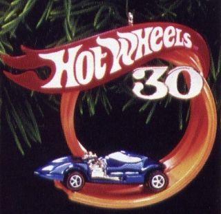 Hallmark 1998 Hot Wheels Ornament Race Car