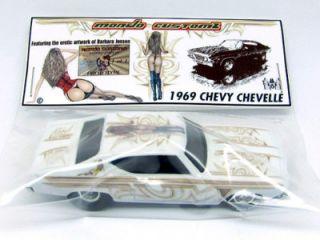 Custom Hot Wheels Barbara Jensen Art 69 Chevy Chevelle