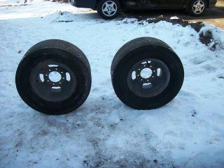 Vintage 15 Magnesium Wheels with Mickey Thompson Tires