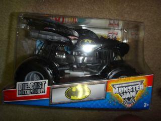Batman Monster Truck Monster Jam Hot Wheels 1 24 Grave Digger 30th