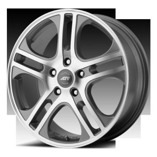 16 Wheels Rims American Racing Gray with 265 75 16 Terra Grappler at