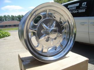 Rocket Ignitor Wheels Chevy Buick Olds 5 on 4 75 BP 15x8 Gasser