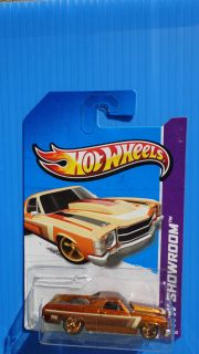 Hot Wheels 2013 Super Treasure Hunt 71 El Camino Real Riders Tires