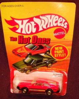 Hot Wheels Hot Ones 82 Supra No 3925 Made in Malaysia 1983