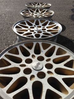 Jeep Grand Cherokee Limited Factory Stock 15 Wheels Rims