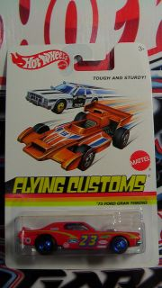 Hot Wheels 2013 Flying Customs B Case 73 Ford Gran Torino New RARE