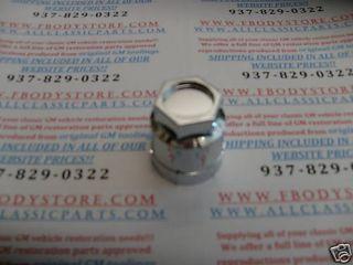 82 92 Trans Am Firebird Lug Nut Covers Cap 86 88 Chrome