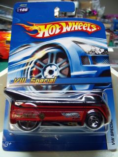 Hot Wheels Carded Limited Ed Volkswagen Special Drag Truck Mystery Car