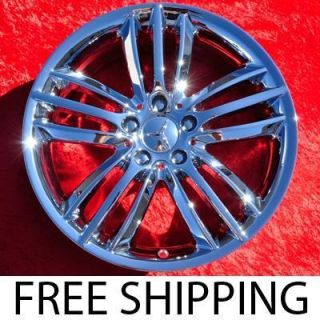 New 18 Mercedes Benz C Class OEM Chrome Wheels Rims NH1259 EXCHANGE