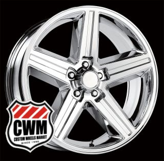 16x8 IROC Z Chrome Replica Wheels Rims 5x4 75 for Chevy S10 Blazer